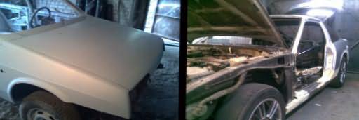 Грунтовка кузова автомобиля