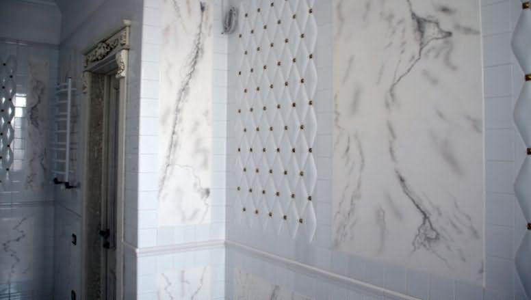 Как сделать декоративную штукатурку для ванной